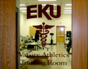 EKU Athletic Training Bobby Barton Athletic Training Facility
