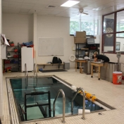 Hydrotherapy Area in Bobby Barton Athletic Training Room