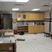 Taping, Wound Care and Rehab Area AC Athletic Training Rm.
