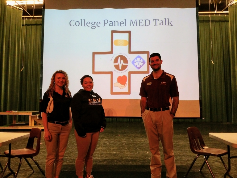 EKU Athletic Training Students Speak To Future Healthcare Profession
