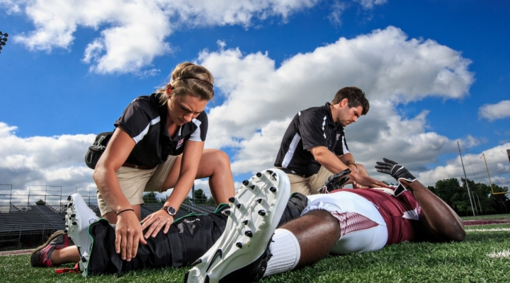Athletic training at program athletic training