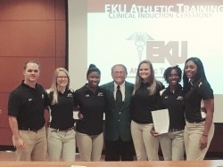 First Cohort of EKU MS in Athletic Training Students