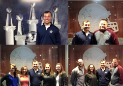 EKU Alumni Bobby Feeback Provides AT Program Faculty and Students Tour of Dallas Cowboy Training Center