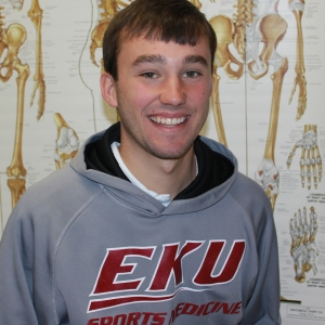 EKU Athletic Training Student Bobby Feeback