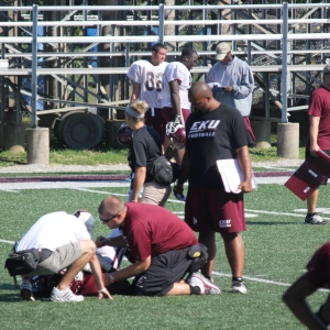 EKU Athletic Training on the Field