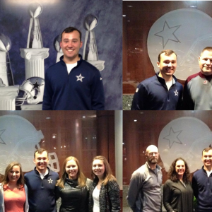 EKU Athletic Training Alum Showcases Dallas Cowboys Facility to Current Students