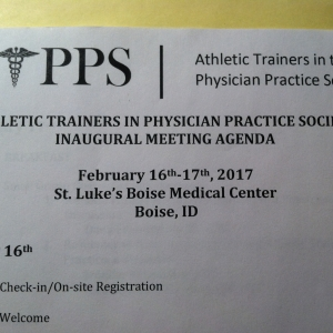 EKU Represented at Athletic Trainers in the Physician Practice Inaugral Meeting