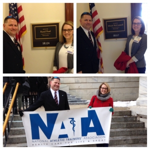 EKU Athletic Training Faculty Represent at Capitol Hill Day