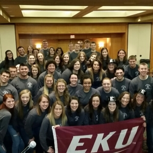 EKU Athletic Training Students at SEATA Athletic Training Student Symposium