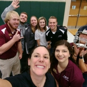 EKU Athletic Training Students Prepare to Explain Athletic Training to Freshmen