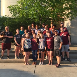 EKU Athletic Training Student End-of-Year Cookout