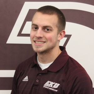 EKU Athletic Training Student Robbie Kippler