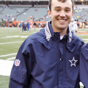 EKU Athletic Training Student Bobby Feeback Goes Back to the Dallas Cowboys
