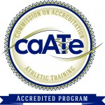 Seal of the Commission on Accreditation of Athletic Training Education