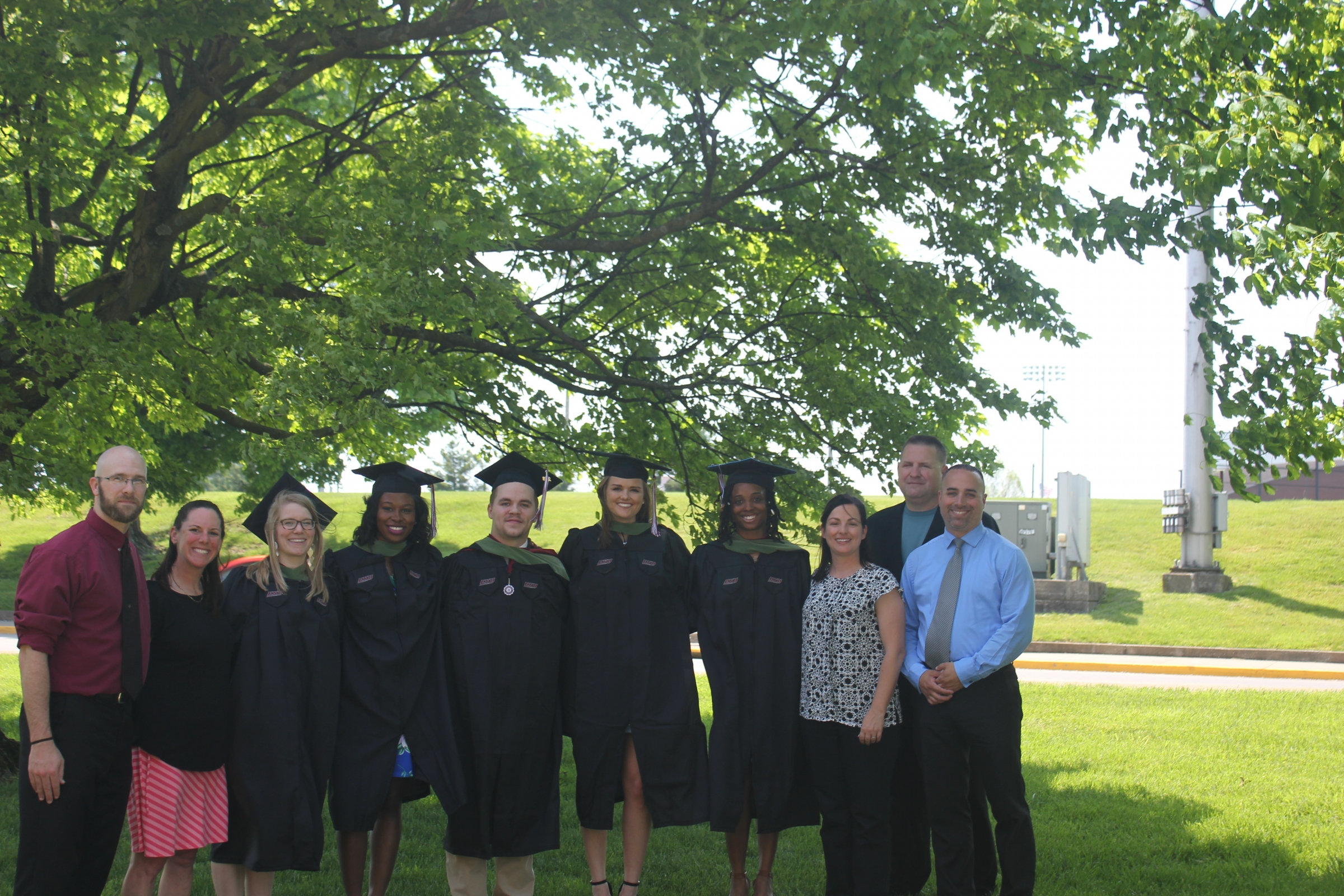 Graduation of EKU's First MS in Athletic Training Cohort
