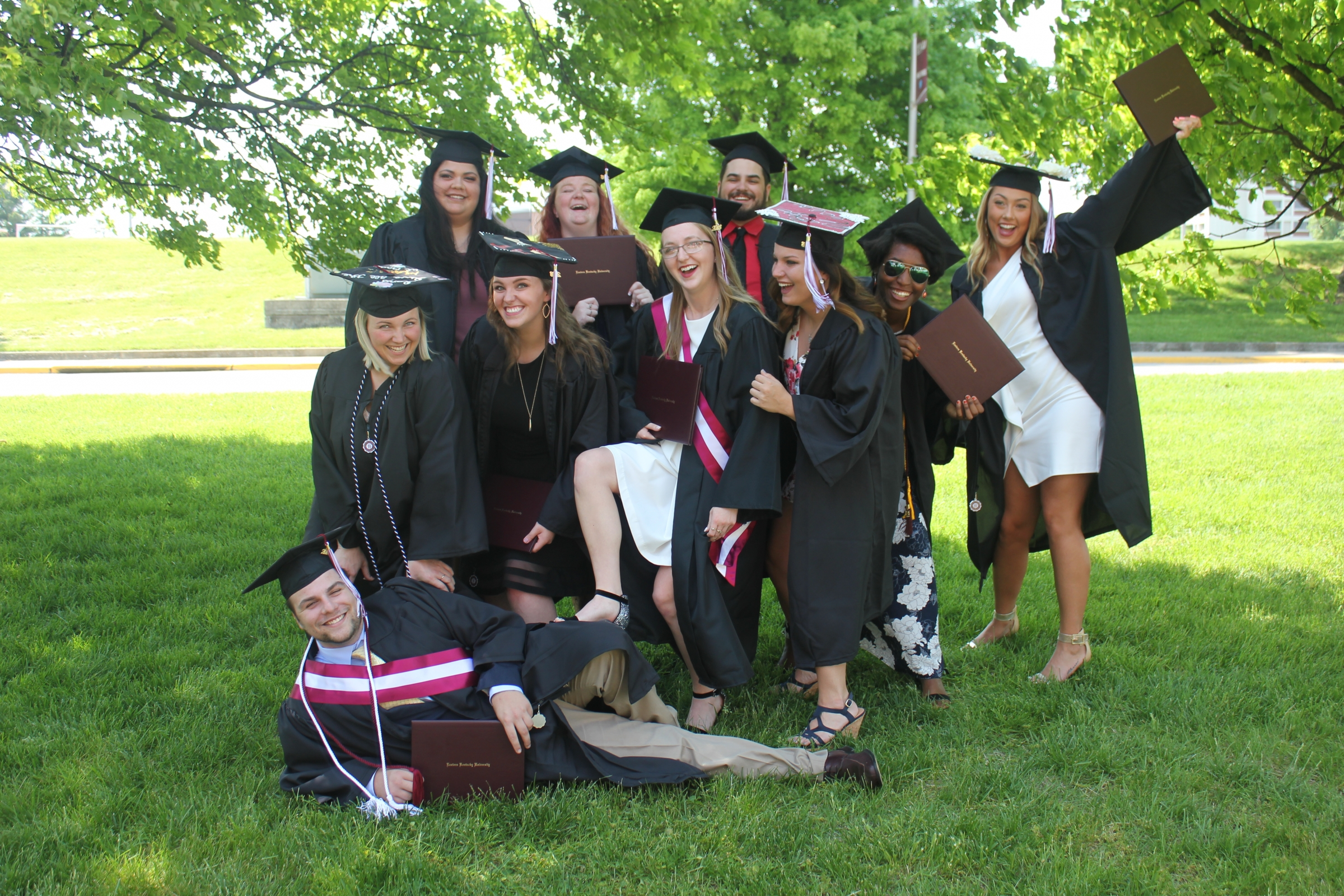 EKU's 2018 Graduation BS in Athletic Training Cohort
