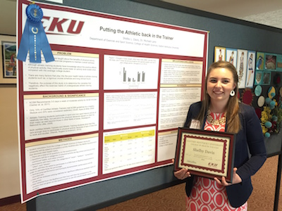 Athletic Training Student Shelby Davis Poster Presentation ...